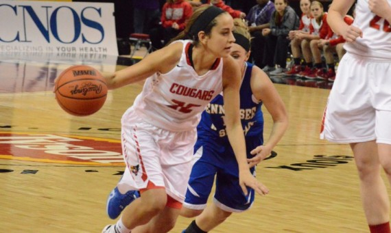 Sophomore Kara Krolicki led all scorers with 29 points in leading No. 2 SXU to a big 86-58 win over Tennessee Wesleyan