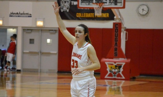 Junior Mikayla Leyden - CCAC Women's Basketball Player of the Week