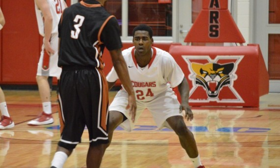 Senior Stanley Moore led all scorers with 23 points, but SXU dropped its opener to Lourdes (Ohio), 78-65
