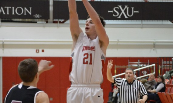 Junior Quinn Niego led Saint Xavier with 24 points, nine rebounds and five assists in an 88-73 loss to Huntington