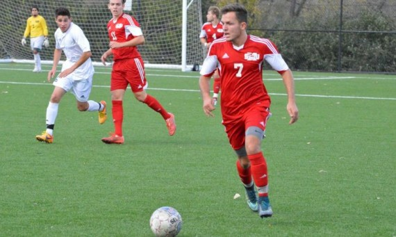 Junior Kamil Szczesniak recorded his first career hat trick in a 4-0 road win over Olivet Nazarene Wednesday night
