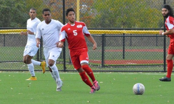 Freshman Orlando Tapia scored two goals in Tuesday's 5-1 road win over Trinity Christian