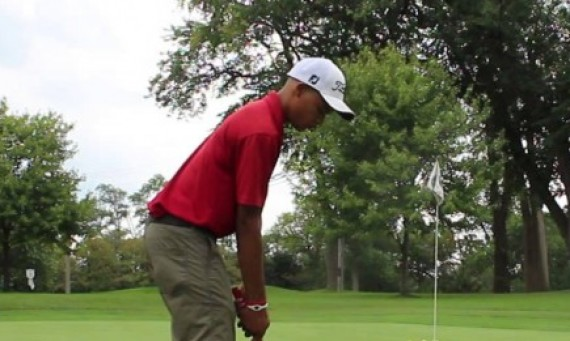Freshman Christian Thornton shot a 7-over par Monday for a 78 at the Troll Classic Monday