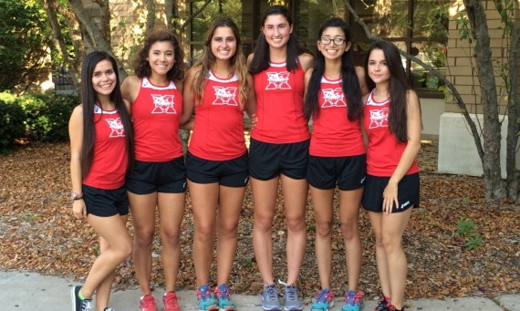 From left: Annette Sanchez, Jozelyn Macias, Olivia Mergenthaler, Grace Maletich, Salma Rodriguez and Lorena Garcia