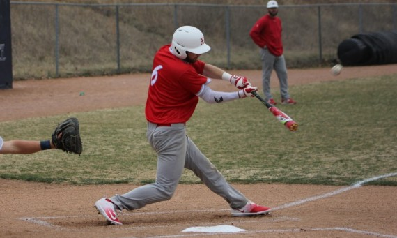 Sophomore Garrett Bright had three hits, including a double, and three runs scored for SXU in a big win Wednesday