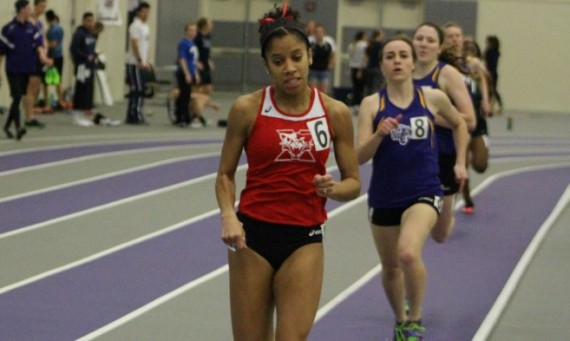 Junior Rachal Brooks broke 26 seconds with a time of 25.89 for a new personal-best in the 200 meter dash