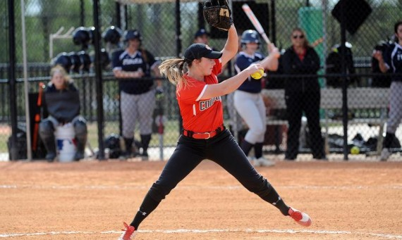 Senior Callie Brown moved her season record to 4-1 behind 10 strikeouts in a 2-1 victory for No. 2 SXU Wednesday