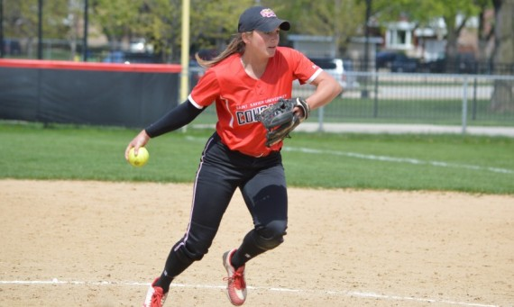 Senior Callie Brown got the game two win in the circle and also recorded three RBIs Saturday against TIU