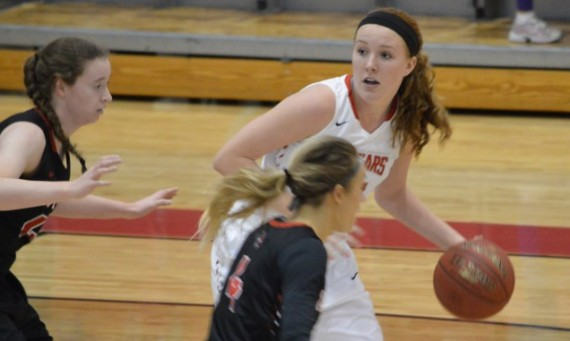 Junior Brittany Collins had career-bests of 26 points and 14 rebounds as No. 6 SXU took down No. 8 Davenport, 93-72