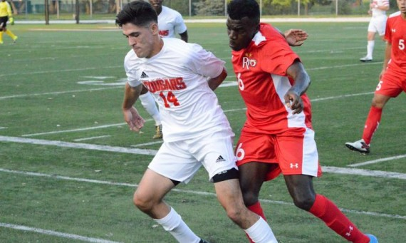 Senior Erik Diaz was one of four SXU men's soccer players named a Daktronics-NAIA Scholar-Athlete