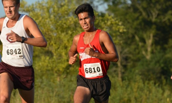 Junior Abel Hernandez - CCAC Men's Cross Country Runner of the Week