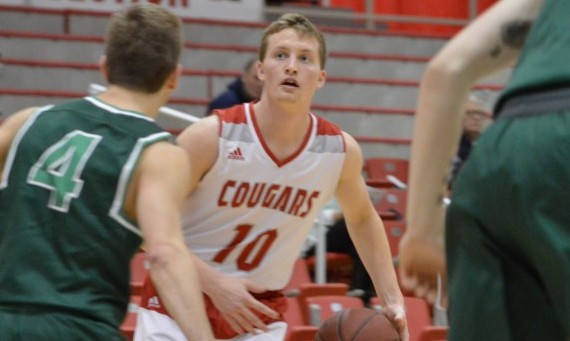 Senior Kyle Huppe had 17 points and a key three-pointer Saturday in SXU's 69-55 home win over Roosevelt