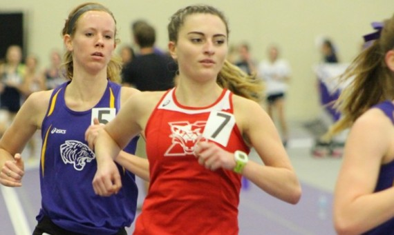Junior Sierra Downey posted a personal-best time of 18:26.89 in the 5K run at the Dr. Keeler Invite