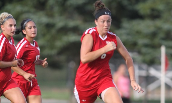 Sophomore Abigail Peppin scored the game-winning goal against Calumet Saturday in East Chicago, Ind.