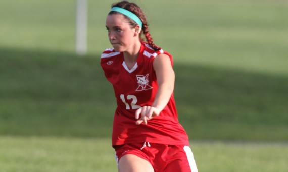 Senior Brittany Kroening had SXU's only goal in a 4-1 CCAC road loss to Cardinal Stritch (Wis.) Tuesday