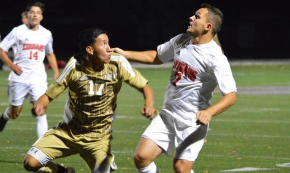 Senior Kamil Szczesniak had one of Saint Xavier's two goals in a 2-0 CCAC win over St. Francis (Ill.) Tuesday