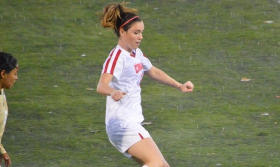 Senior Brittany Kroening led SXU with three shots in Wednesday's 1-0 loss to St. Francis (Ill.)
