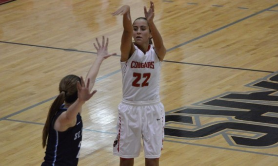 Junior Kara Krolicki had a game-high 29 points in SXU's 113-50 home win over Saint Ambrose Wednesday