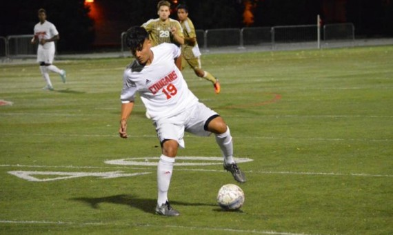 Sophomore Danny Lopez had a goal and an assist in Saturday's 2-1 road win over Robert Morris in Arlington Heights