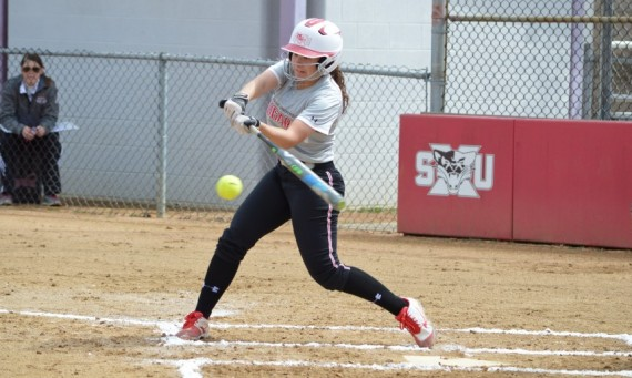Sophomore Lexxie Lux had two hits, two runs scored and three RBIs Sunday against IUSB