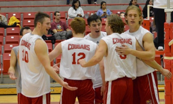 The SXU men's volleyball team got its season off to a great start with a three-set win over IIT Thursday