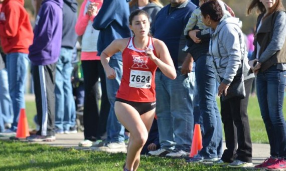 Freshman Grace Maletich was named the 2016 CCAC Women's Cross Country Newcomer of the Year