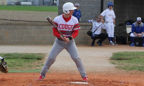 Sophomore Mark Martin hit a pair of home runs to help Saint Xavier sweep Siena Heights Sunday