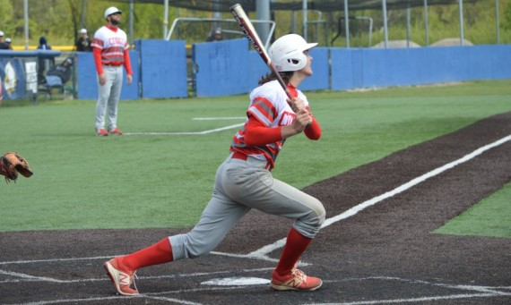 Freshman Matt Monahan went a perfect 4-for-4 Saturday with a double, a homer and five RBI to lead SXU to another win