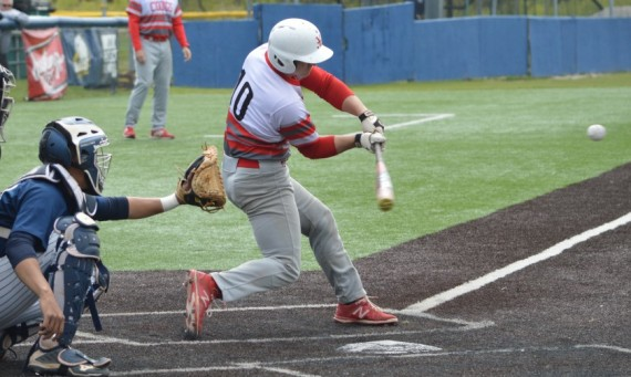 Senior Ryan Pellack had three hits and a run scored in SXU's 6-1 loss to Saint Ambrose Monday
