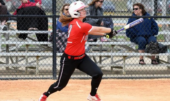 Senior Brittany Plimmer had three hits for Saint Xavier Friday in a doubleheader against No. 16 USF