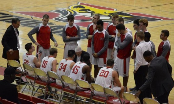 The No. 22 ranked SXU men's basketball team fell to No. 9 IU-East, 91-63, Saturday in Richmond, Ind.