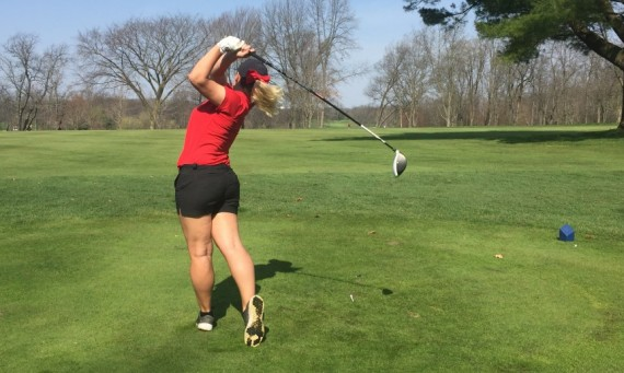 Senior Taylor Thompson - CCAC Women's Golfer of the Week (April 19)