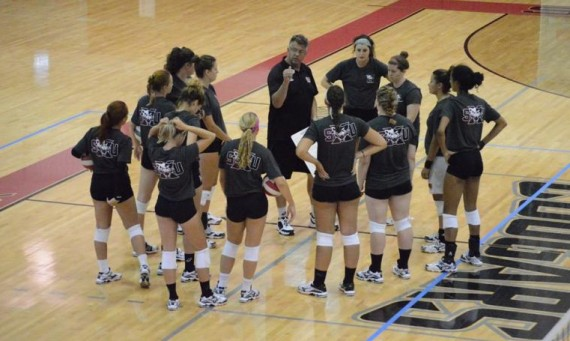 The SXU volleyball team earned the No. 4 seed for the 2016 CCAC Volleyball Tournament this week