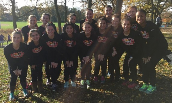 The No. 17 SXU women's cross country team finished second in conference and qualified for the national meet Saturday