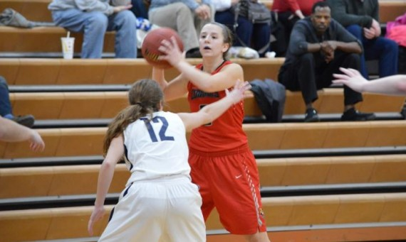 Freshman Maddie Welter scored 23 points and hit seven three-pointers in SXU's 103-69 road win over Saint Ambrose Wednesday