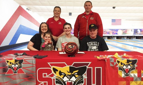 Streator standout Trever Siefert has signed to continue his bowling career at Saint Xavier University